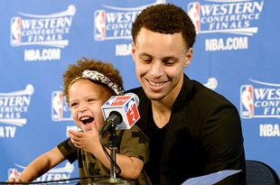 VIDEO Stephen Curry's Cute Daughter Riley Steals The Show