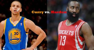 Stephen Curry vs James Harden 'Western Conference Finals'