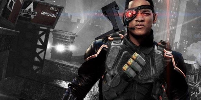 Will Smith Masters AR15 Assault Rifle for role as Deadshot