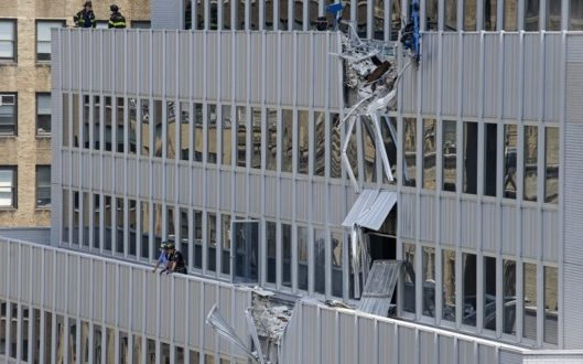 Air Conditioning Unit Plunges Nearly 30 Stories From Crane, 10 Hurt