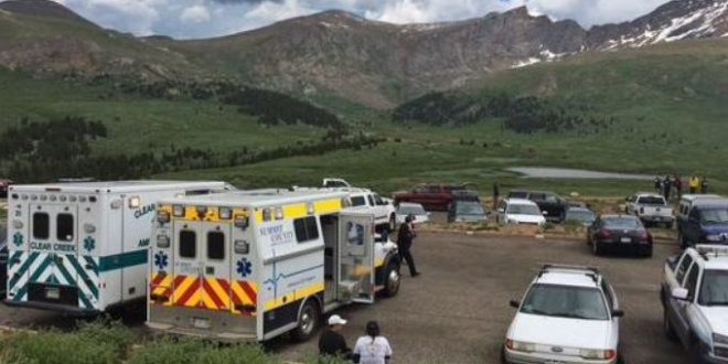15 Hurt, Dog Killed by lightning strike on Mount Bierstadt