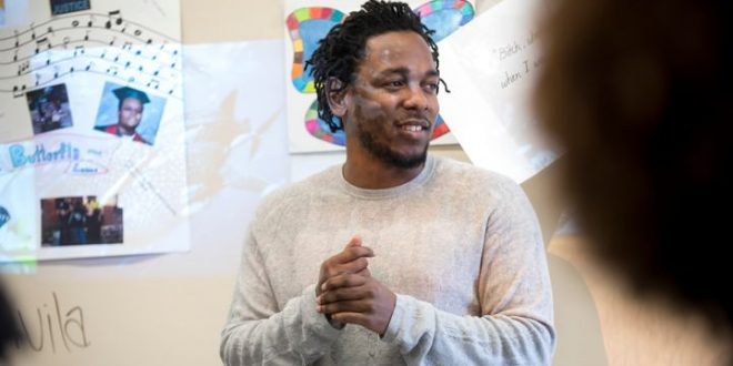 Kendrick Lamar Blows Students' Minds, Listens to Poetry at NJ High School