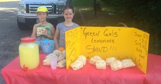 POLICE SHUT DOWN GIRLS' LEMONADE STAND, Requests License