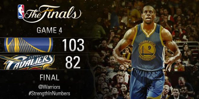 Cavs vs Warriors Game 4 Full Highlights 2015 NBA Finals