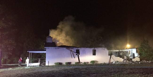 Another Black-American Church Goes Up in Flames in S.C.