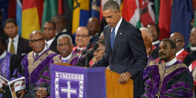 VIDEO President Obama sings Amazing Grace at Slain Pastor's Funeral South Carolina