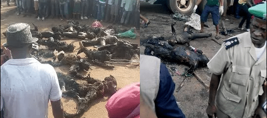 69 Killed in Onitsha after Gasoline Tanker Blows Up in Nigerian City.