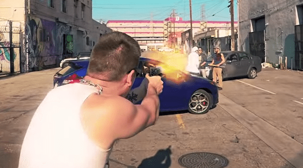 Video Game Grand Theft Auto V Re-Created into Real Life