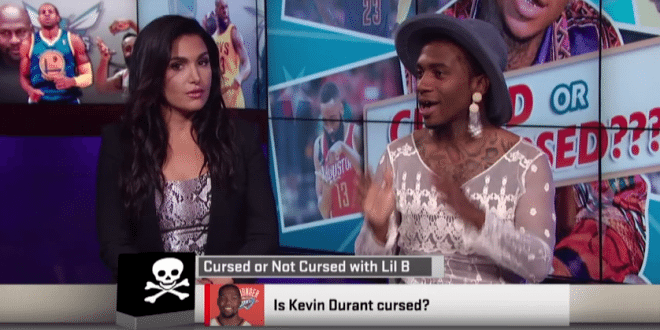 "Lil' B Confirms-Denies the ""Based God Curse"" on ESPN"