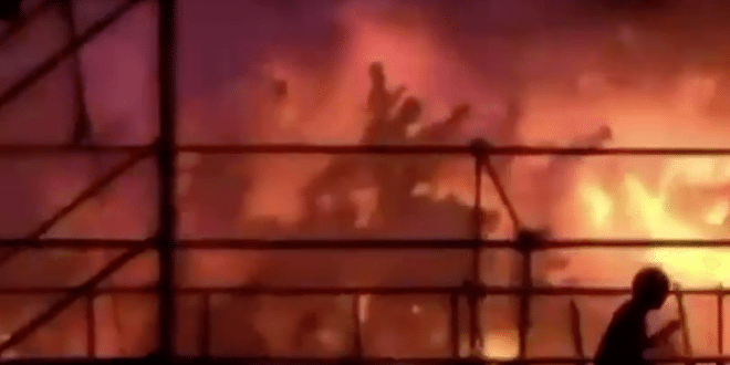 Almost 500 Burned In Taiwan As Fire Erupts In Water Park