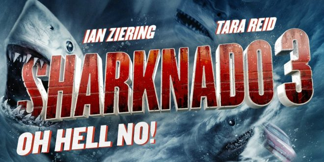 VIDEO: 'Sharknado 3' is set to Hit deadly fury on D.C.