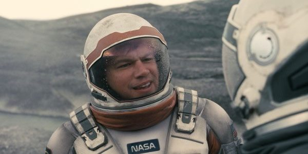 Matt Damon battles to survive on Mars in first trailer for The Martian
