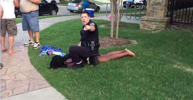 VIDEO McKinney Texas Pool Party Police Officer Identified Will Be Fired