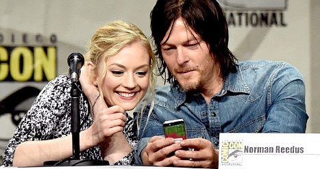 Walking Dead's Norman Reedus, Former Costar Emily Kinney Dating?!
