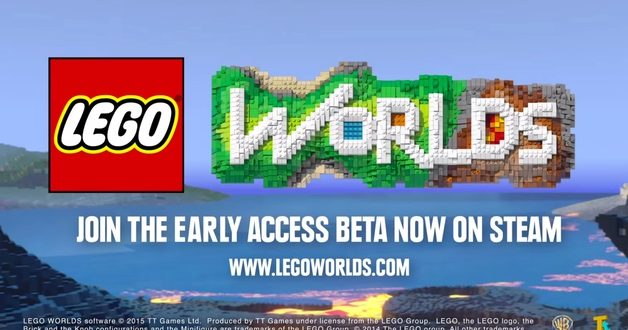 Meet MineCraft's New Rival 'Lego World' Available in Steam