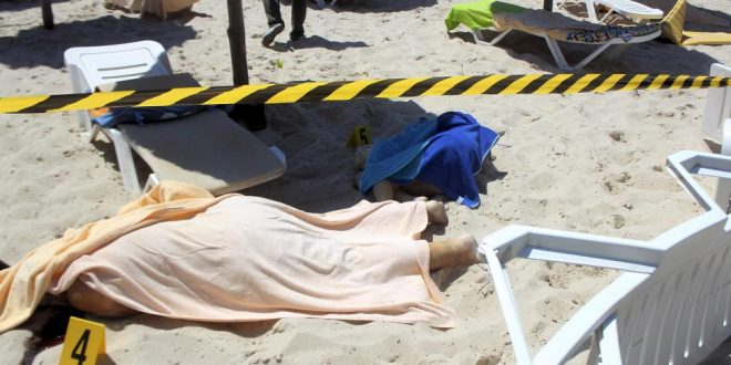 37 People Killed in Tunisia Beach Resort Hotel