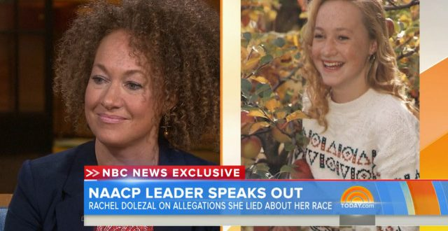 VIDEO Rachel Dolezal Today Show 'I Identify As Black'