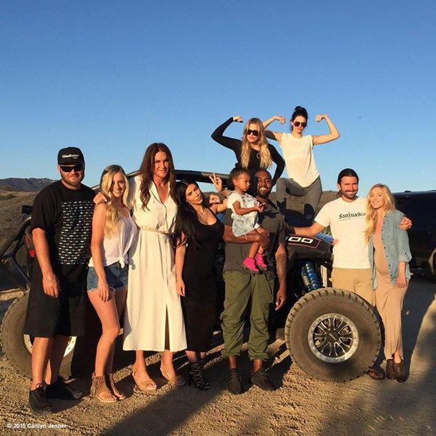 Caitlyn Jenner Celebrates Father's Day With Her Family!