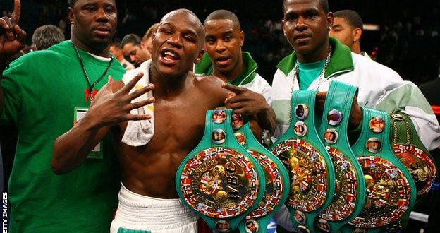 Floyd Mayweather Will Be Stripped of One of His Titles on Monday