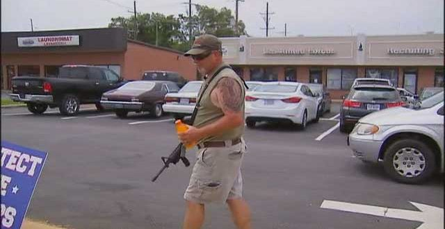 """The horrific murder of four Marines in Chattanooga showed the vulnerability of military recruitment centers. They are in public locations, and by law, they are """"gun free zones"""" -- meaning the military that are there are not allowed to carry their weapons."""