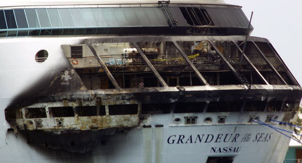 Royal Caribbean Cruise Ship Catches on Fire; No Injuries Reported
