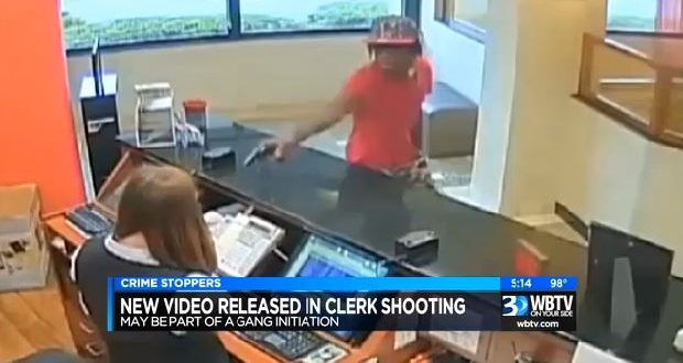 VIDEO Black Suspect Shoots White Hotel Clerk For No Apparent Reason