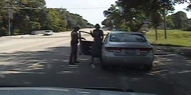 VIDEO Sandra Bland Traffic Stop (Raw Uncut)
