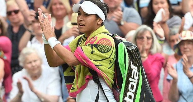 Serena Williams says 'Heather Watson should have won the match'
