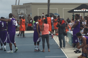 Metta World Peace son Jeron Artest shakes and breaks defender's ankles!