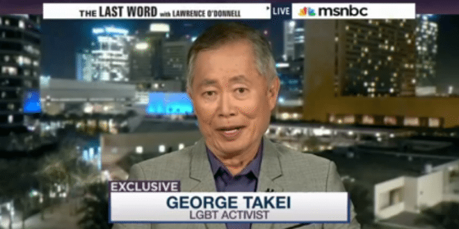 VIDEO George Takei: Donald Trump Doesn't Believe In 'Traditional Marriage'
