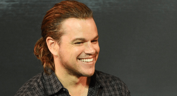 Matt Damon Rocks New Ponytail For 'The Great Wall' Press Conference