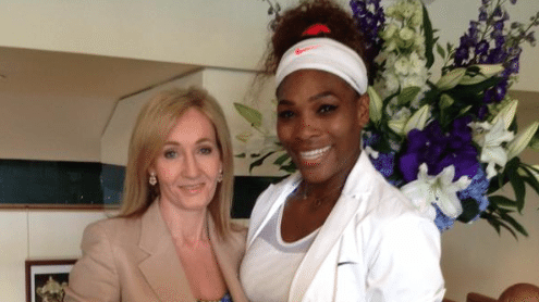 J.K. Rowling Crushes Serena Williams Hater On Twitter