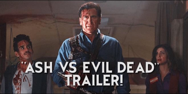 VIDEO Bruce Campbell Stars in Ash vs. Evil Dead