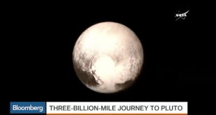 Here's What Pluto Looks Like From About 7,750 Miles Away