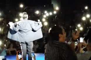 "VIDEO George Lopez Gets Phoenix Audience to Chant ""F*ck Donald Trump"""