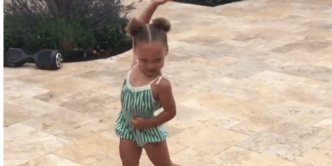 Riley Curry Showing Off Her Best Dance Moves On 3rd Birthday