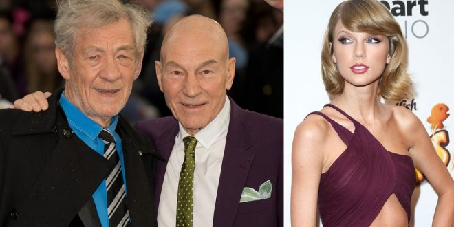 Patrick Stewart, Ian McKellen recites Taylor Swift lyrics, gets 'Squad' Membership