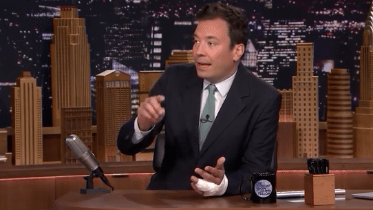 Jimmy Fallon Returns to The Tonight Show After a Horrible Finger Injury