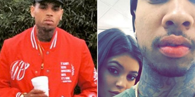 Tyga says Chris Brown is Jealous of His Relationship With Kylie Jenner