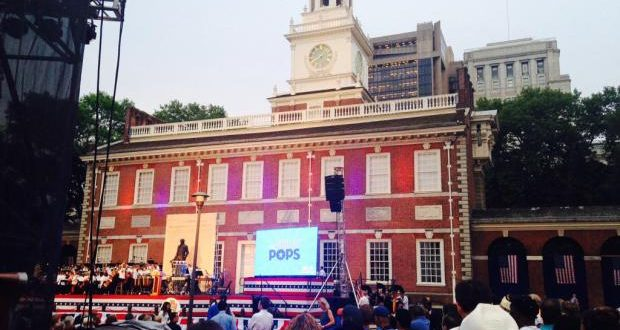 Philly Pops Play Free Concert To Celebrate July 4th In Old City