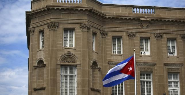 VIDEO 1st time in 54 years: Cuban Embassy Reopens in DC, Flag Raised