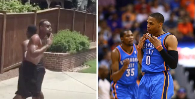 VIDEO Russell Westbrook Best Impersonation Ever