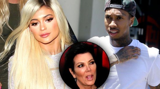 Kylie Jenner & Tyga Fighting Kris Jenner Over The TV Debut Of Their Relationship!