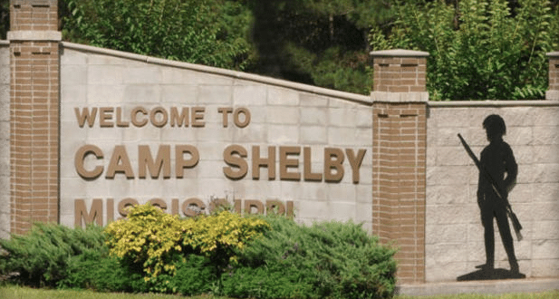 2 Men Fire at Soldiers at Camp Shelby in Mississippi