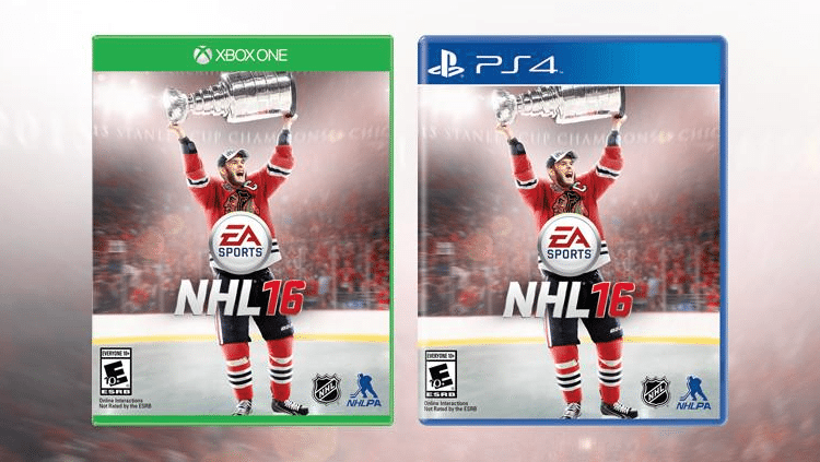 Patrick Kane Pulled from EA Sports NHL 16 Video Game Cover