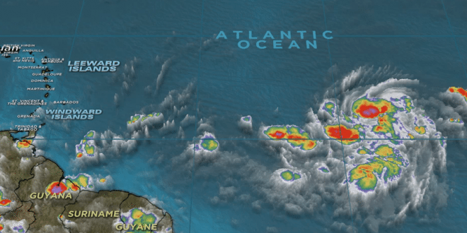 Tropical Storm Danny Stirs the Atlantic, may grow into a Hurricane