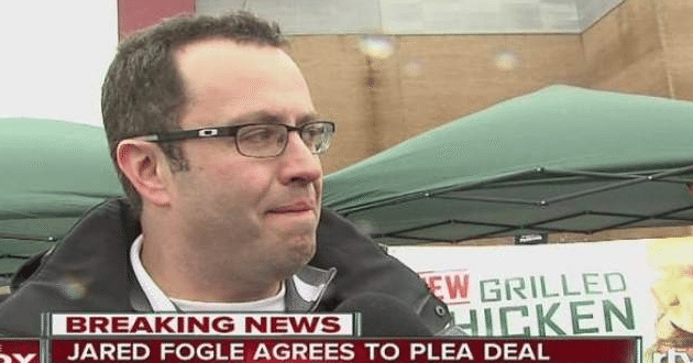 Jared Fogle will Plead Guilty to Child Porn Charges, Pay $1.4M to 14 Victims