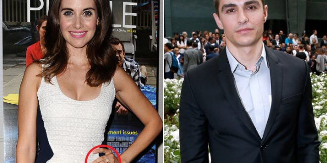 Alison Brie Engaged to Dave Franco