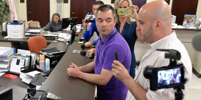 Same-sex couple denied marriage license by Rowan County Clerk for 3rd time