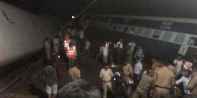 Two Trains Derail Sending Carriages Tumbling into River